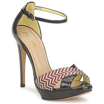 Čevlji  Ženske Sandali & Odprti čevlji Pollini PA1638CC1V Kožna-rožnata