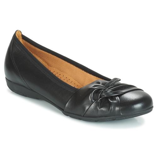 Čevlji  Ženske Balerinke Gabor MATILDA Črna