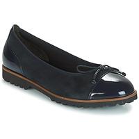 Čevlji  Ženske Balerinke Gabor CAROLINA Modra