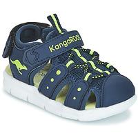 Čevlji  Dečki Sandali & Odprti čevlji Kangaroos K-MINI Rumena