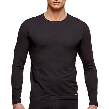 Oblačila Moški Majice z dolgimi rokavi Impetus 1368898 020 Črna