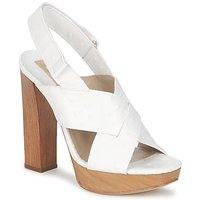 Čevlji  Ženske Sandali & Odprti čevlji Michael Kors MK18072 Bela