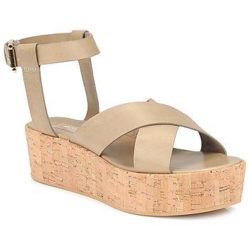 Čevlji  Ženske Sandali & Odprti čevlji Michael Kors MK18132 Pesek