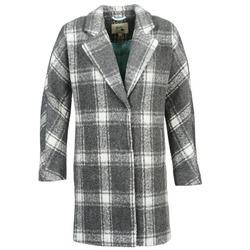 Oblačila Ženske Plašči Yumi EHIME Bela / Siva