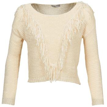 Oblačila Ženske Puloverji Betty London CAZE Bež