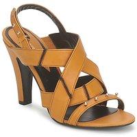 Čevlji  Ženske Sandali & Odprti čevlji Karine Arabian DOLORES Rumeno-oranžno-Črna