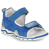 Čevlji  Dečki Sandali & Odprti čevlji André PLANCTON Modra