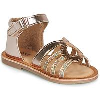 Čevlji  Deklice Sandali & Odprti čevlji André LEÏA Zlata