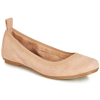 Čevlji  Deklice Balerinke André PEPITE Rožnata