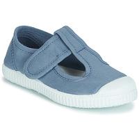 Čevlji  Deklice Sandali & Odprti čevlji André NAVIRE Modra