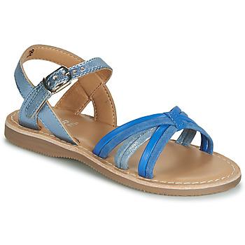 Čevlji  Dečki Sandali & Odprti čevlji André AZUR Modra