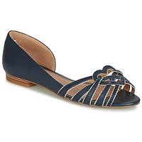 Čevlji  Ženske Balerinke André CHRISTIE Modra