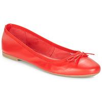 Čevlji  Ženske Balerinke André PIETRA Rdeča