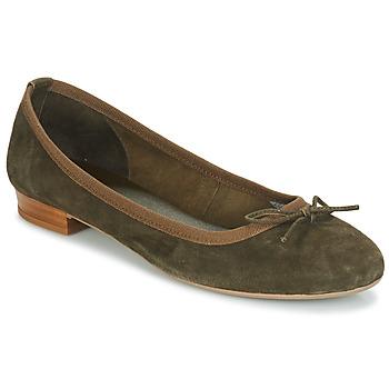 Čevlji  Ženske Balerinke André CINDY Kaki