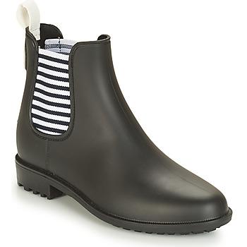 Čevlji  Ženske škornji za dež  André SKIPPER Črna