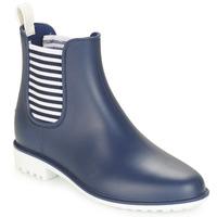 Čevlji  Ženske škornji za dež  André SKIPPER Modra