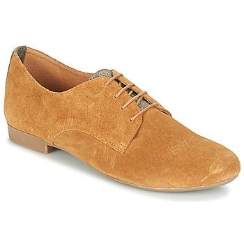 Čevlji  Ženske Čevlji Derby André CAMARADE Cognac