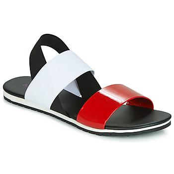 Čevlji  Ženske Sandali & Odprti čevlji André SATANAS Rdeča