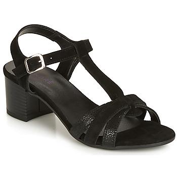 Čevlji  Ženske Sandali & Odprti čevlji André CAROLA Črna