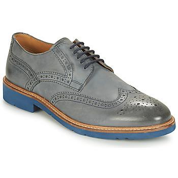 Čevlji  Moški Čevlji Derby André FLOWER Siva / Modra