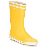 Čevlji  Ženske škornji za dež  Aigle MALOUINE BT Rumena