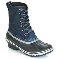 Čevlji  Ženske Škornji za sneg Sorel SLIMPACK™ 1964 Modra / Črna