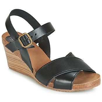 Čevlji  Ženske Sandali & Odprti čevlji Kickers SALAMBO Črna