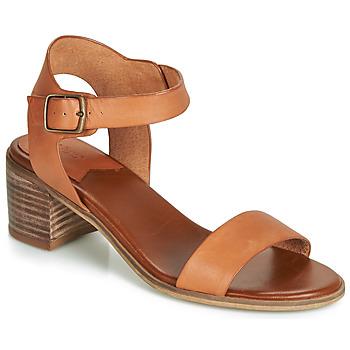 Čevlji  Ženske Sandali & Odprti čevlji Kickers VOLOU Kamel