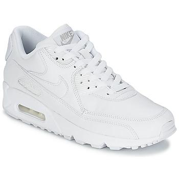 Čevlji  Moški Nizke superge Nike AIR MAX 90 LEATHER Bela