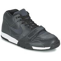 Čevlji  Moški Nizke superge Nike AIR TRAINER 1 MID Črna