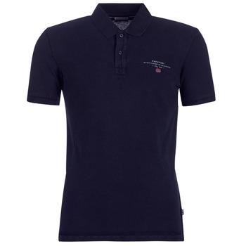 Oblačila Moški Polo majice kratki rokavi Napapijri ELBAS 2 Modra