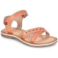 Čevlji  Deklice Sandali & Odprti čevlji Kickers DIDONC Rožnata