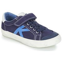 Čevlji  Dečki Nizke superge Kickers GODY Modra