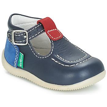 Čevlji  Otroci Balerinke Kickers BONBEK Modra