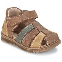 Čevlji  Dečki Sandali & Odprti čevlji Citrouille et Compagnie FRINOUI Kostanjeva / Večbarvna