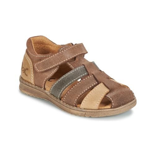 Čevlji  Dečki Sandali & Odprti čevlji Citrouille et Compagnie FRINOUI Kostanjeva