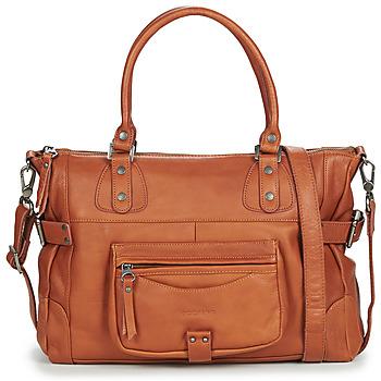 Torbice Ženske Ročne torbice Sabrina CAMILLE Kostanjeva