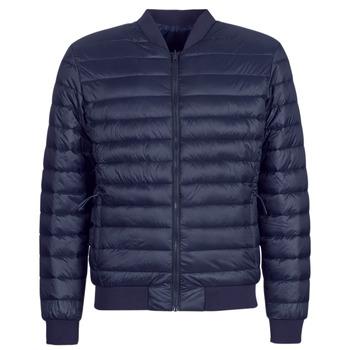 Oblačila Moški Puhovke Selected SLHPADDED BOMBER Modra