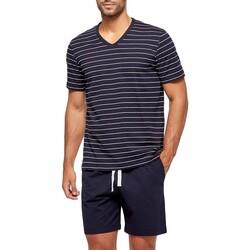 Oblačila Moški Pižame & Spalne srajce Impetus GO63024 039 Modra