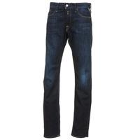 Oblačila Moški Jeans straight Replay WAITOM Niebieski