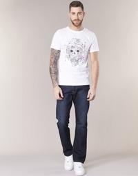 Oblačila Moški Jeans straight Replay WAITOM Modra