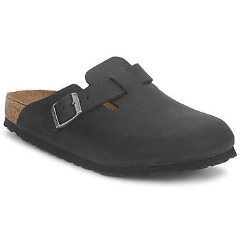Čevlji  Cokli Birkenstock BOSTON PREMIUM Črna