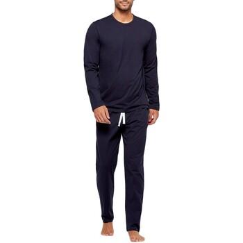 Oblačila Moški Pižame & Spalne srajce Impetus GO60024 039 Modra