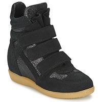 Čevlji  Deklice Visoke superge Acebo's MILLIE Črna