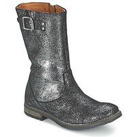 Čevlji  Deklice Mestni škornji    Shwik WACO BOTTE Črna