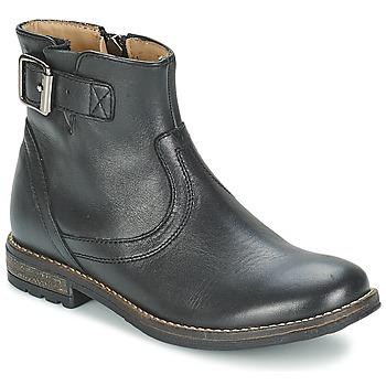 Čevlji  Deklice Polškornji Shwik WACO BASE Črna