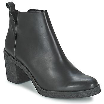 Čevlji  Ženske Gležnjarji Miista KENDALL Črna