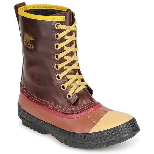 Čevlji  Moški Škornji za sneg Sorel MENS SENTRY ORIGINAL Kostanjeva