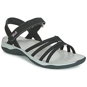 Čevlji  Ženske Sandali & Odprti čevlji Teva ELZADA SANDAL WEB Črna