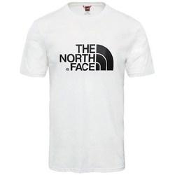 Oblačila Moški Majice s kratkimi rokavi The North Face M SS Easy Tee Bela
